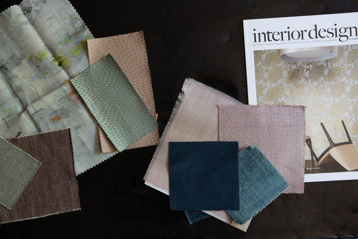 Fabric samples to inspire